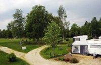 Sörbostrands camping Infarten till campingplatserna