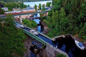 Sörbostrands camping Dalslands kanal
